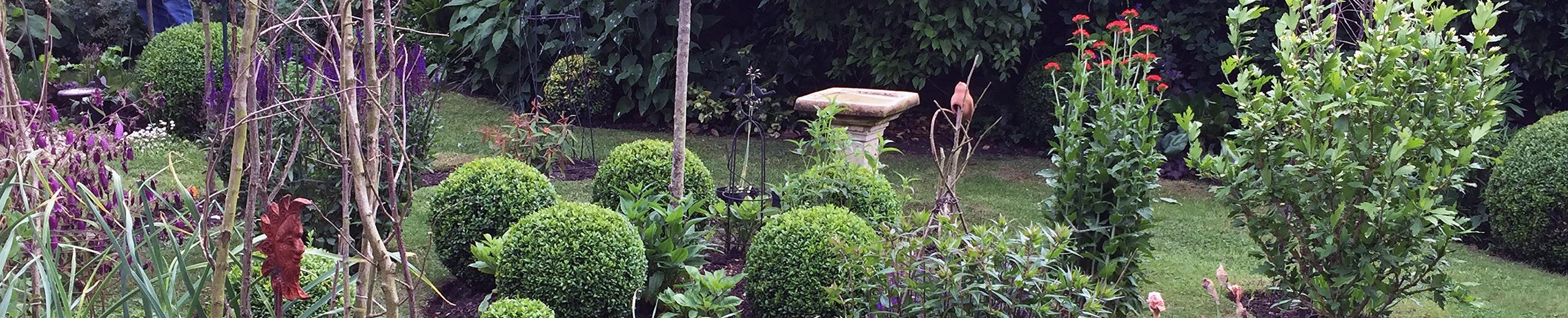 elegant cottage garden